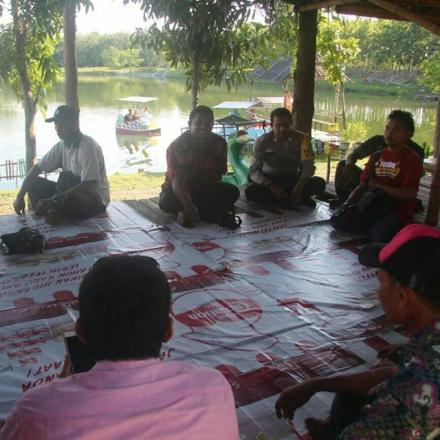 Untuk Pengelolaan Waduk, Desa Deru Studi Tiru ke Waduk Grobogan