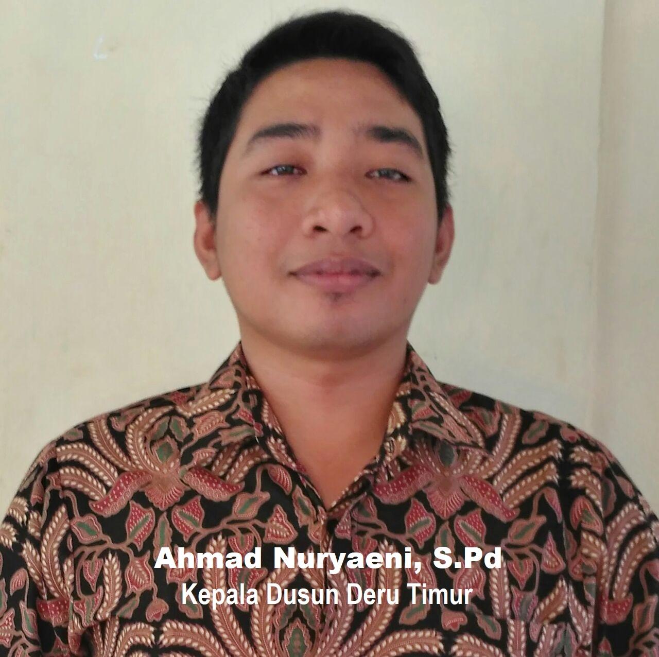 Kepala Dusun Deru Timur